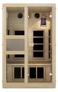 JNH Lifestyles ENSI Collection 2 Person Infrared Sauna