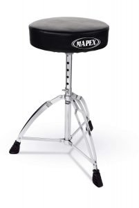 Mapex Double Brace Round top Drum Throne 1 201x300 image