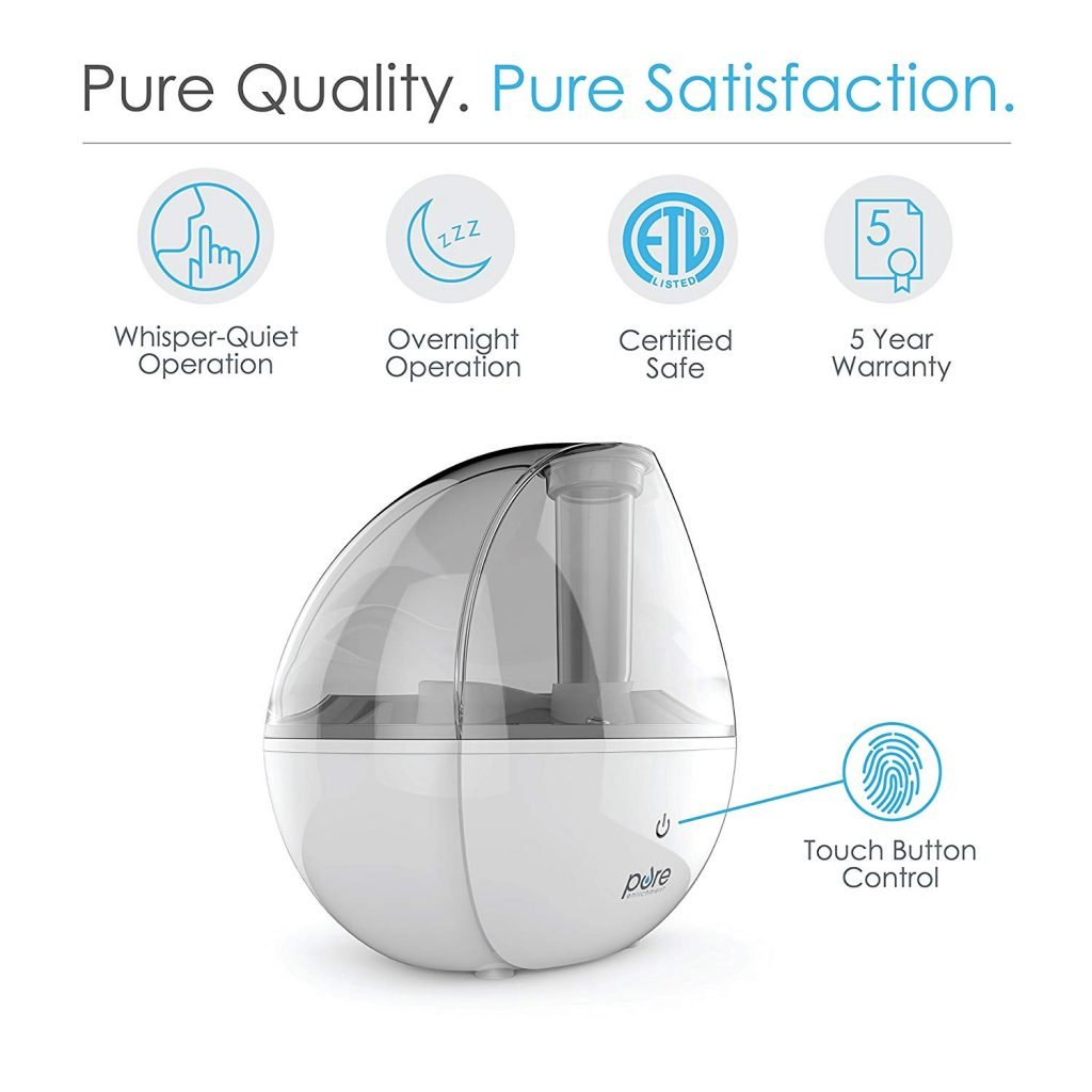 6 Best Filterless Humidifiers Jan 2019 Reviews Buying Guide