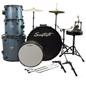 Rise by Sawtooth Full Size Student Drum Set 2
