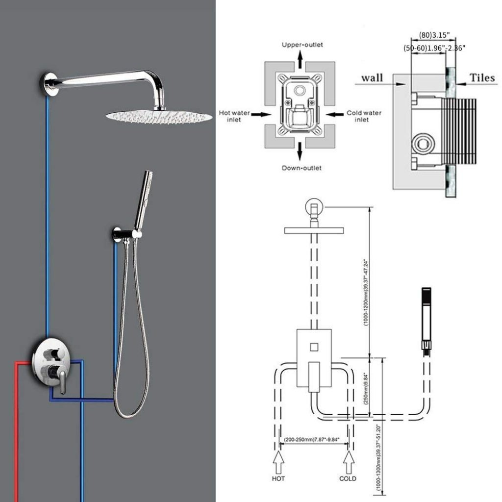 29 How To Plumb Multiple Shower Heads Diagram