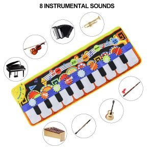 Tencoz Musical Piano Mat-3