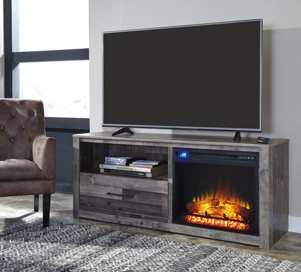 fireplace insert tv stand