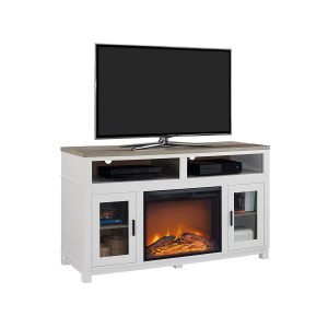 Ameriwood Home Carver Electric Fireplace TV Stand 1 300x300 image