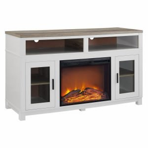Ameriwood Home Carver Electric Fireplace TV Stand 2 300x300 image