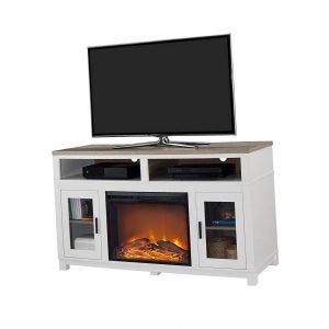 Ameriwood Home Carver Electric Fireplace TV Stand 3 300x300 image