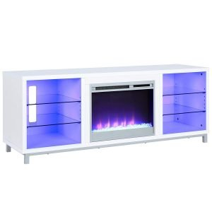 Ameriwood Home Lumina Fireplace TV Stand 1 300x300 image