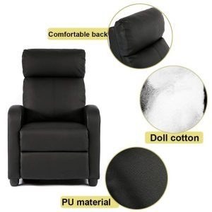 BestMassage Wingback Recliner Chair 1 1 300x300 image