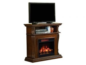 Classic Flames Corinth Electric Fireplace TV Stand 1 300x225 image