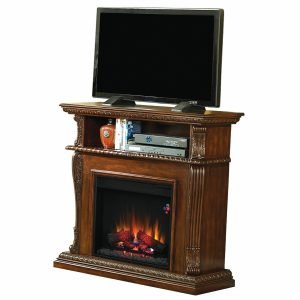 Classic Flames Corinth Electric Fireplace TV Stand 3 300x300 image