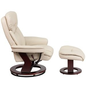 Flash Furniture Contemporary Beige Leather Recliner 1 1 300x300 image