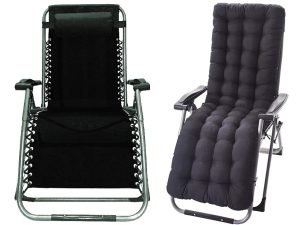 Four Seasons Zero Gravity Chair With Cushion