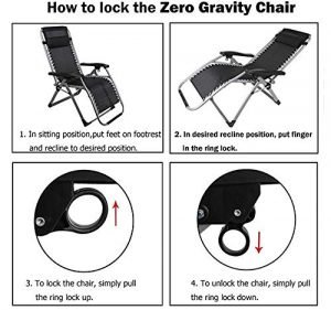 Four Seasons Zero Gravity Chair With Cushion-2