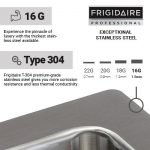 Frigidaire Professional Series Undermount Sink-2