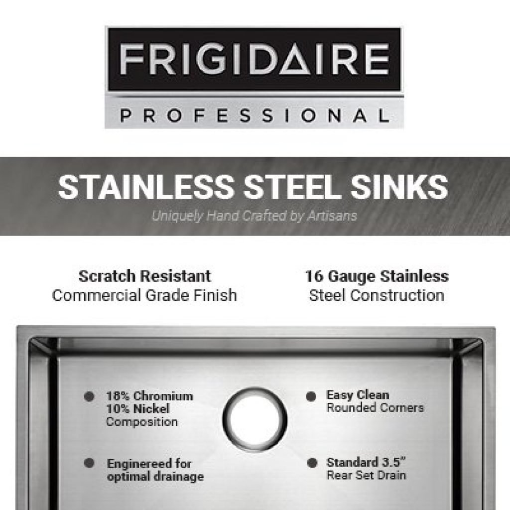 Frigidaire Professional Series Undermount Sink Frigidaire Professional Series Undermount Sink-1
