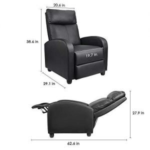 Homall Single PU Leather Recliner 4 300x300 image