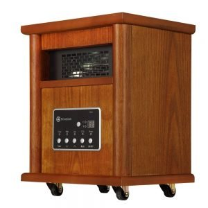 Homegear 1500 SqFt Infrared Electric Portable Space Heater 1