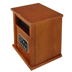 Homegear 1500 SqFt Infrared Electric Portable Space Heater 2