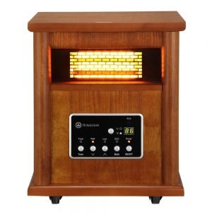 Homegear 1500 SqFt Infrared Electric Portable Space Heater 5 300x300 image