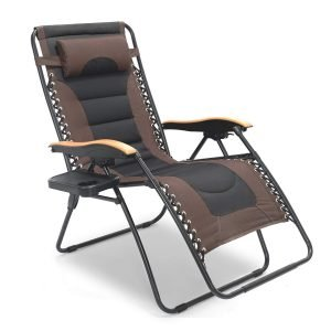 LUCKYBERRY Deluxe Oversized Padded Zero Gravity Chair 1 1 300x300 image