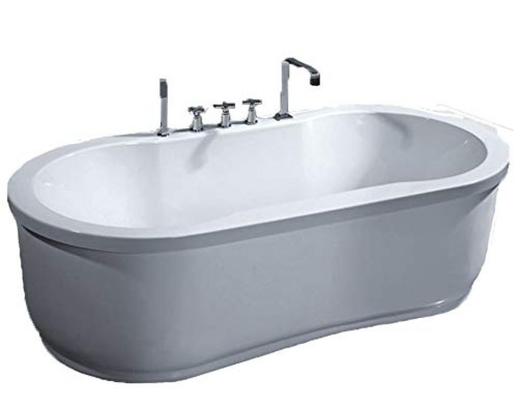 MCP Jetted Tubs Freestanding Hydrotherapy Bathtub_1