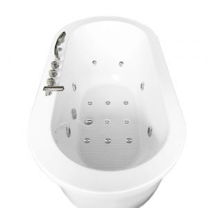 MCP Jetted Tubs Freestanding Hydrotherapy Bathtub_4