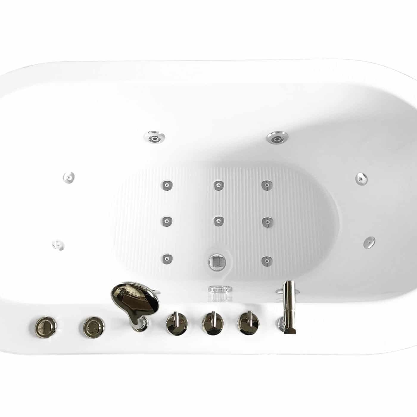MCP Jetted Tubs Freestanding Hydrotherapy Bathtub_5