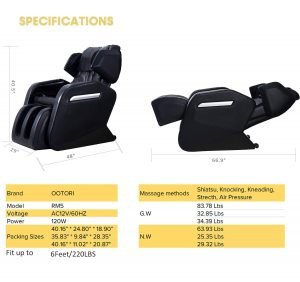 OOTORI Full Body Massage Chair-2