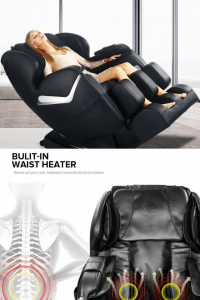 Real Relax Zero Gravity Full Body Electric Massage Chair 3 200x300 image
