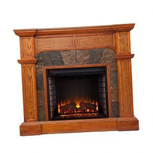Southern Enterprises Cartwright Convertible Electric Fireplace 2 300x300 image