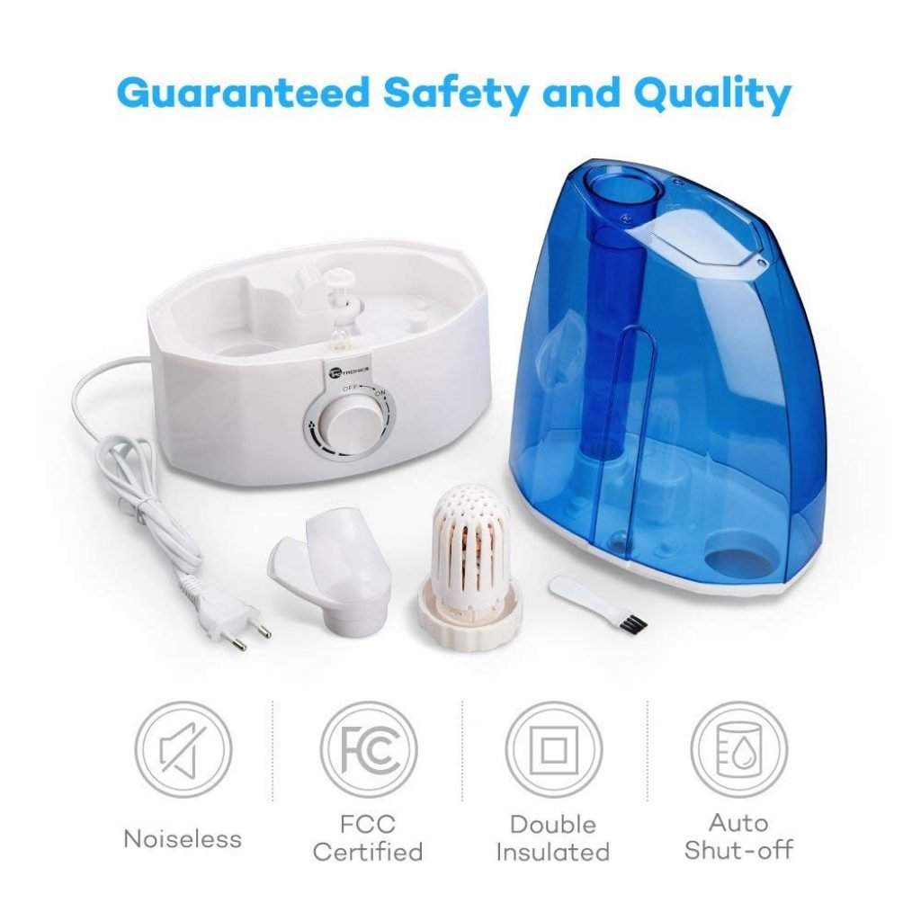 5 Best Humidifiers For Large Rooms Aug 2019 Reviews