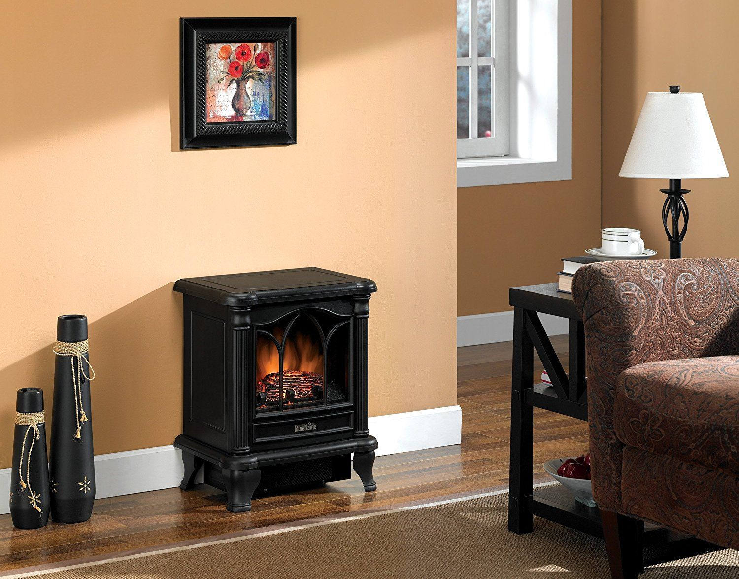 best electric fireplace stove image