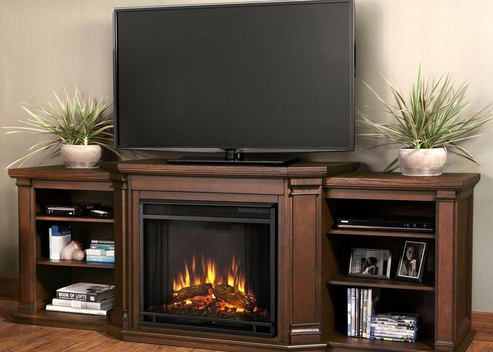 chestnut oak real flame fireplace tv stands 7930e co 64 1000 image