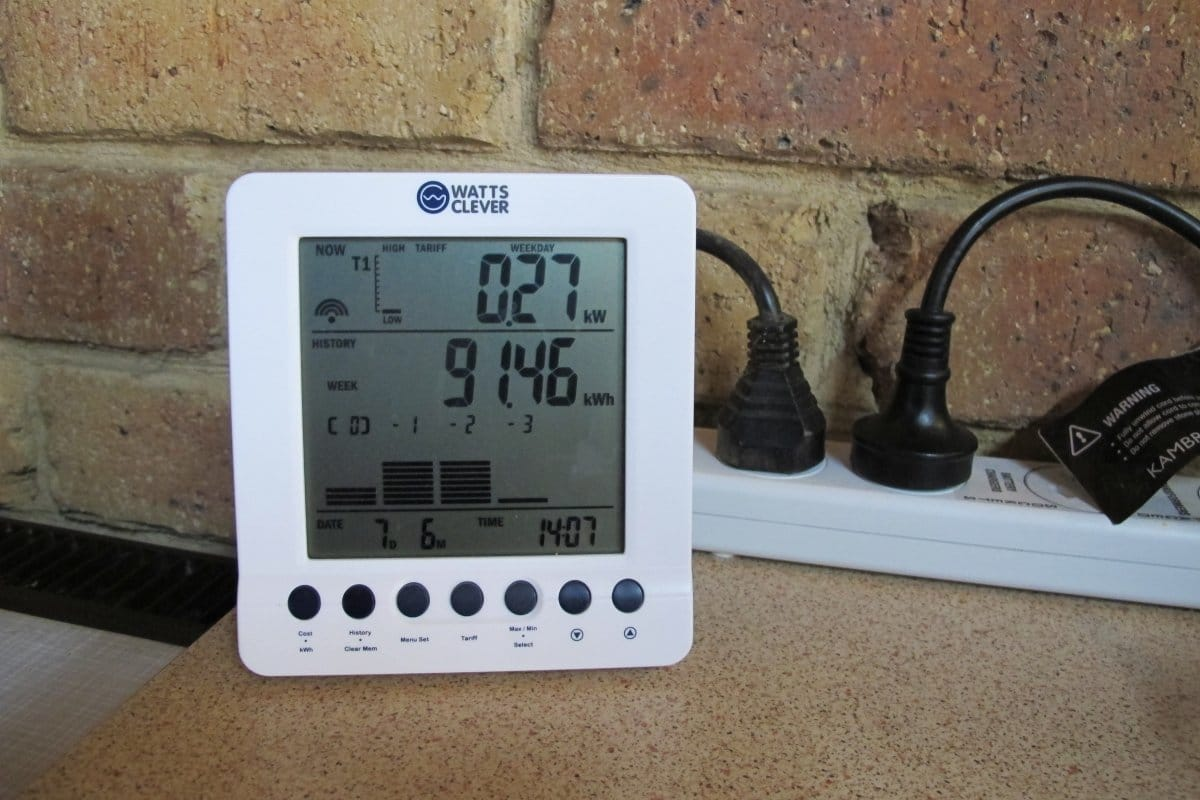 Energy monitor at home