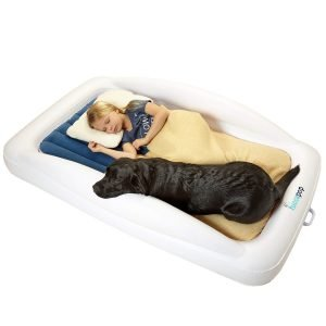 hiccapop Inflatable Toddler Travel Bed-1