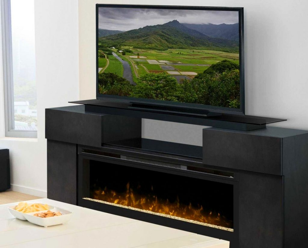 modern electric fireplace tv stand brilliant furniture marvelous unique throughout 5 1024x824 image