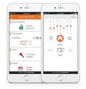 Alarm.com Smart Thermostat1 291x300 image