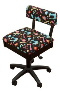 Arrow Height Adjustable Hydraulic Sewing Chair