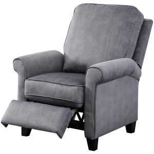 BONZY Roll Arm Push Back Recliner 1 300x300 image