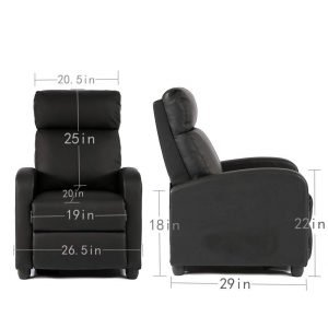 BestMassage Wingback Recliner Chair 2 300x300 image