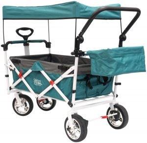 Creative Outdoor Distributor Push Pull Wagon for Kids