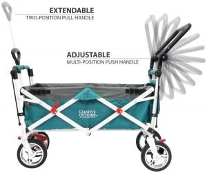 Creative Outdoor Distributor Push Pull Wagon for Kids-4