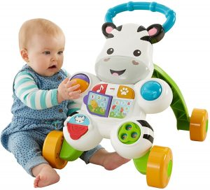 Fisher Price Learn with Me Zebra Walker 1 1 300x272 image