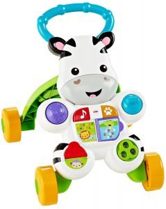 Fisher Price Learn with Me Zebra Walker 2 239x300 image