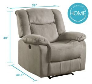 Lifestyle Power Recliner Fabric-3