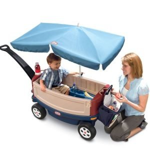 Little Tikes Deluxe Ride and Relax Wagon-2