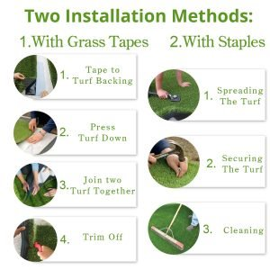 PZG 1-inch Artificial Grass Patch-1