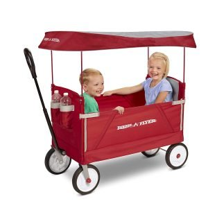Radio Flyer 3-In-1 EZ Folding Wagon with Canopy-2