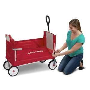 Radio Flyer 3-In-1 EZ Folding Wagon with Canopy-3