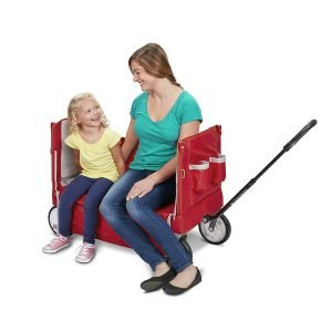 Radio Flyer 3-In-1 EZ Folding Wagon with Canopy-4